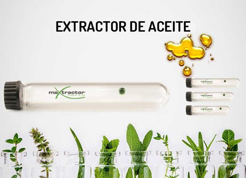 extractores aceite