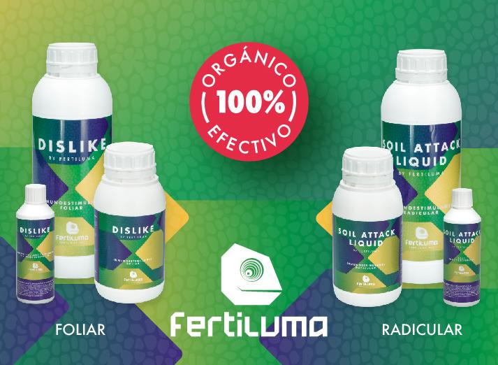 FERTILUMA DISLIKE Y SOIL ATTACK 100% ORGÁNICO